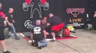 Eddie Hall Breaks World Record And Deadlifts 500kg!