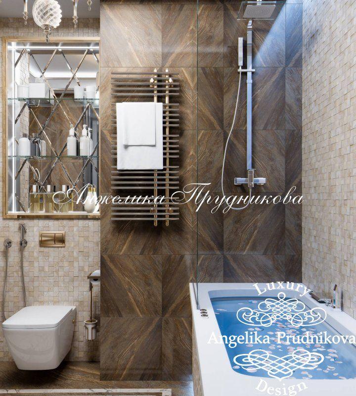 Дизайн проект  интерьера квартиры в стиле Ар Деко в ЖК Лица - фото