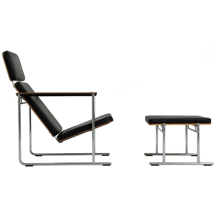 Modern Lounge Chair with Chrome Legs by Yrjo Kukkapuro | From a unique collection of antique and modern lounge chairs at http://www.1stdibs.com/furniture/seating/lounge-chairs/