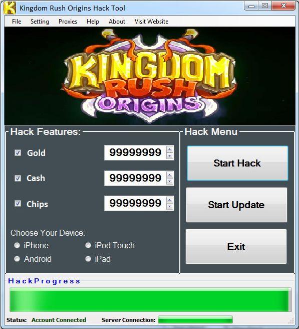 Kingdom Rush Origins Hack   Unlimited Gold