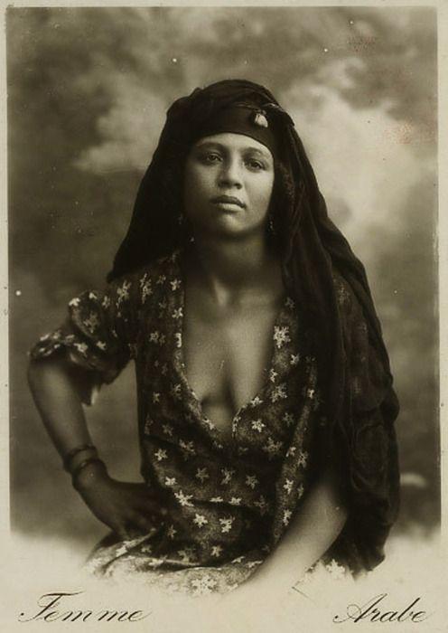 1910s woman - Cairo, Egypt