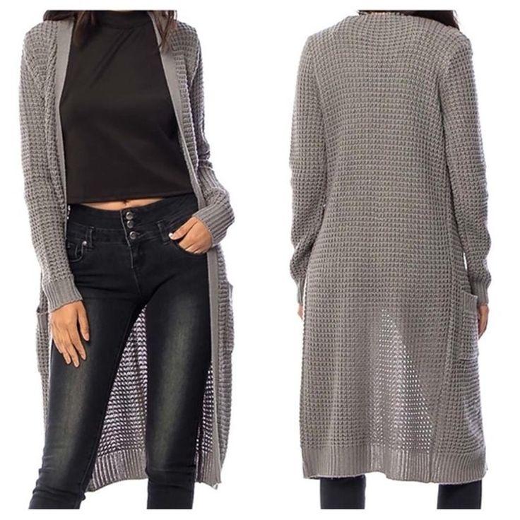 SOUTHERN GIRL FASHION $60 Maxi Cardigan Long Draped Bohemian Sweater Jacket M L #Boutique #Cardigan #Casual