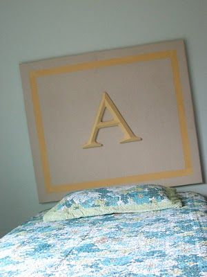 Styrofoam Headboards via www.shanty-2-chic.com with step by step instructions and photos