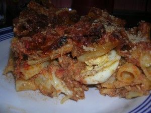 Imqarrun il-forn (Baked Macaroni)