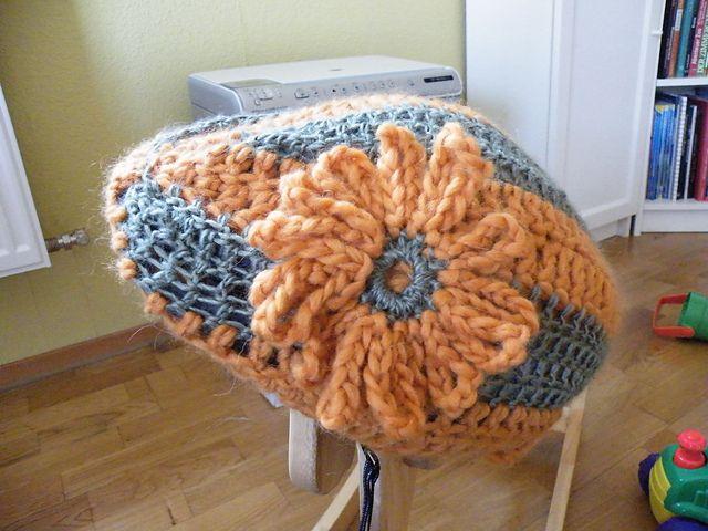 Ravelry: Bicycle Helmet pattern by Christine Zanzinger-Sautter. FP 2/15.