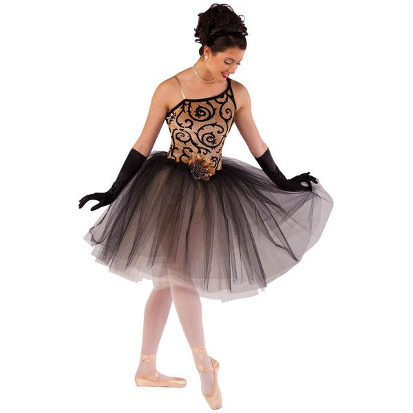 costume gallery ballet contemporary costume details liked on polyvore - Halloween Ballet Costumes