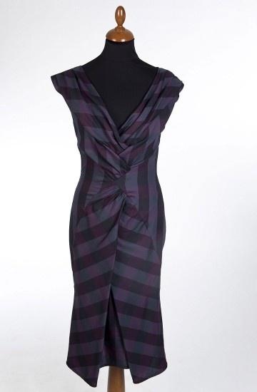 Lena Hoschek - Fashion: Lena Hoschek, Clothing Ideas, Hoschek Favorite, Favorite Designer, Dresses Purple, Gorgeous Clothing, Purple Check, Joy Dresses, Mode