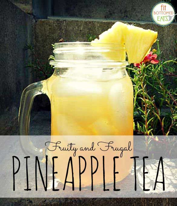 Save money and cut sugar with this simple, delicious DIY fruity pineapple tea recipe!