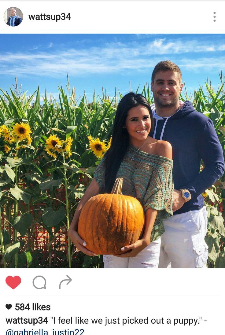 Derek Watt Instagram - 10.16.16 - pumpkin patchin' with his girl. ❤