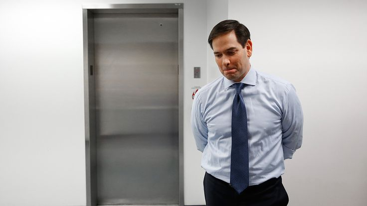 BREAKING: MARCO RUBIO DROPS OUT OF THE RACE