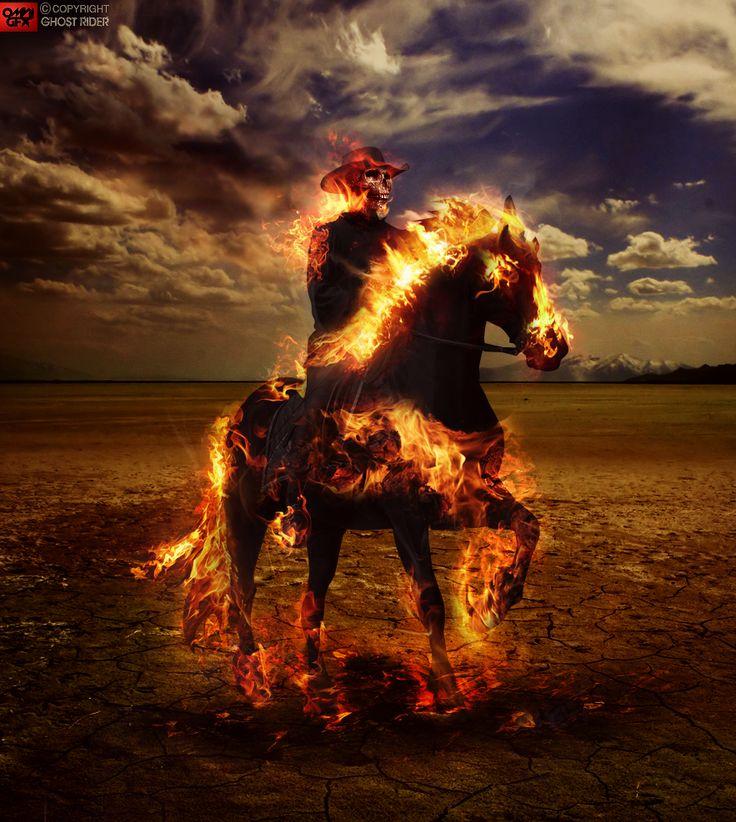 Ghost rider by omnigfx.deviantart.com on @deviantART