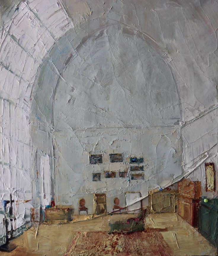 "Saatchi Art Artist: Fanny Nushka Moreaux; Oil 2013 Painting ""Dream Places I"""