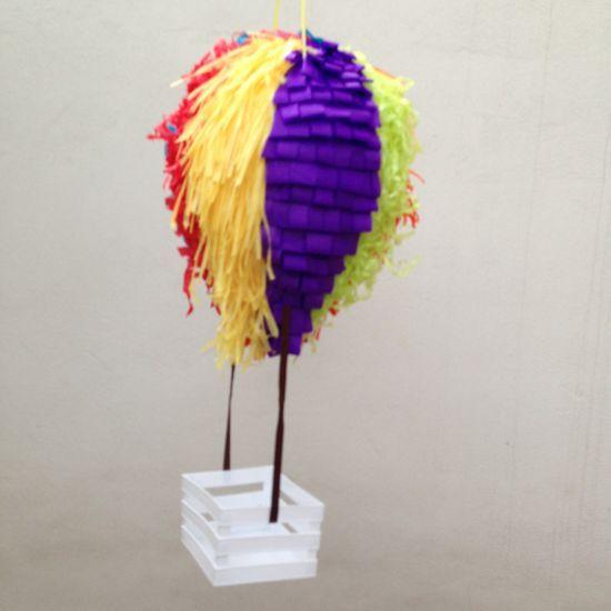 how to make a hot air balloon pi ata via guidecentral   visit