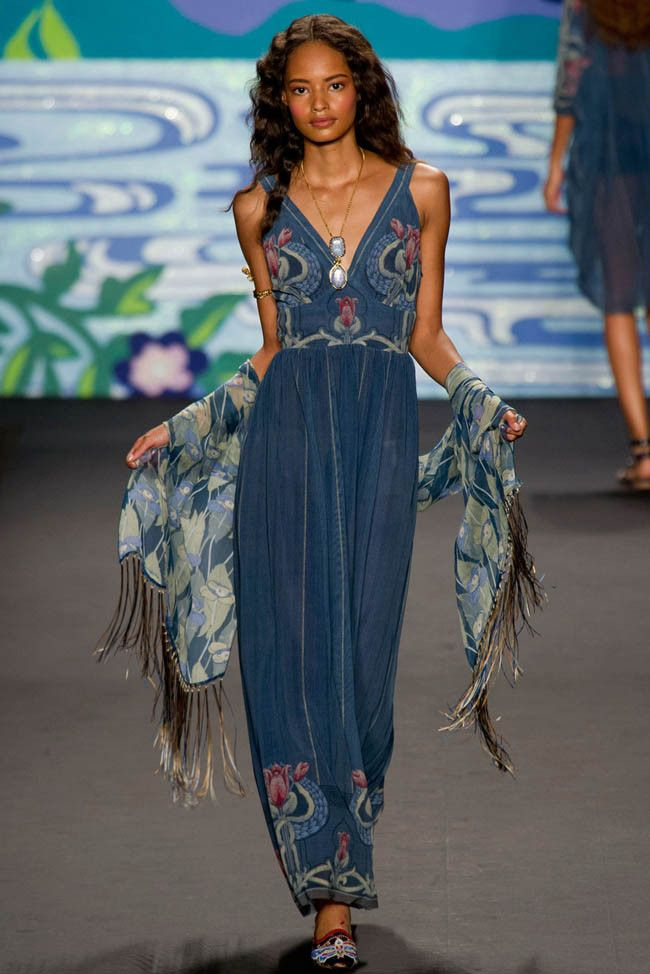 Anna Sui Spring 2014 | New York Fashion Week