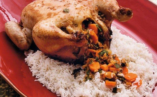 Fyldt kylling fra Burma