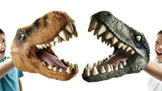 Chomping T-Rex and Velociraptor Hand Puppets Are the Best Winter Gloves