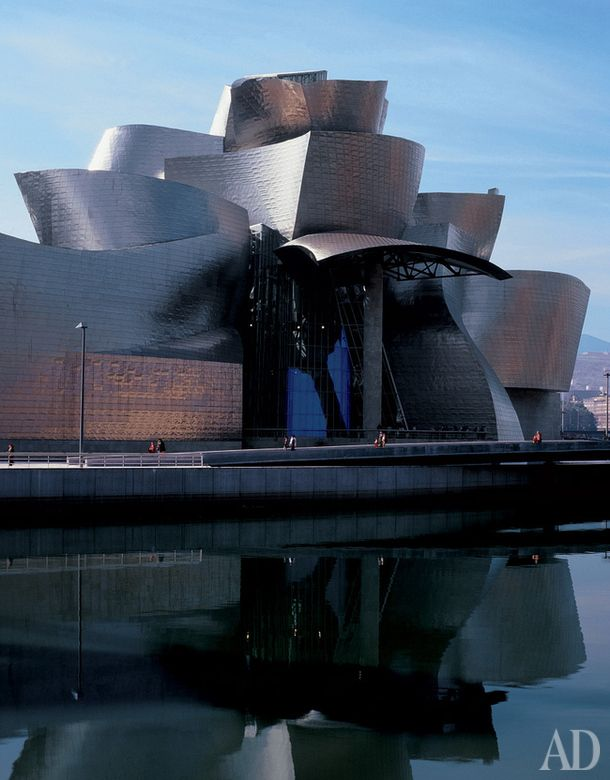 Бильбао, Испания Архитектор Фрэнк Гери
