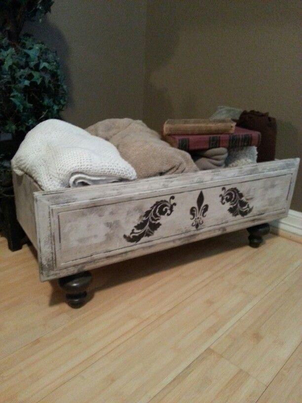 Repurposed Dresser Drawer ♡