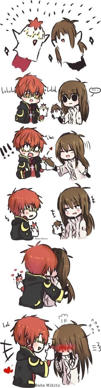 AWWEE CUTE || Mystic Messenger ★
