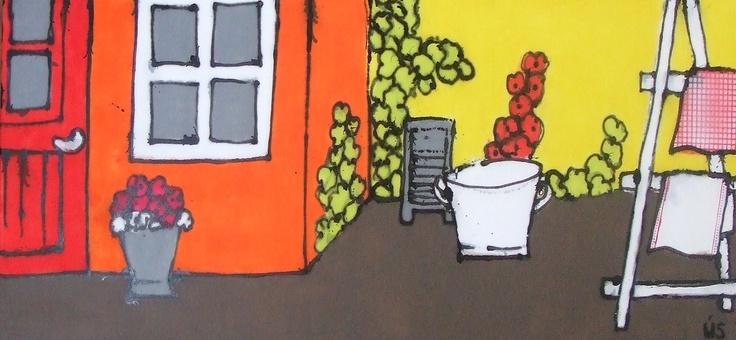 Oud Hollands wassen 180 x 70 cm  www.madeby-us.nl