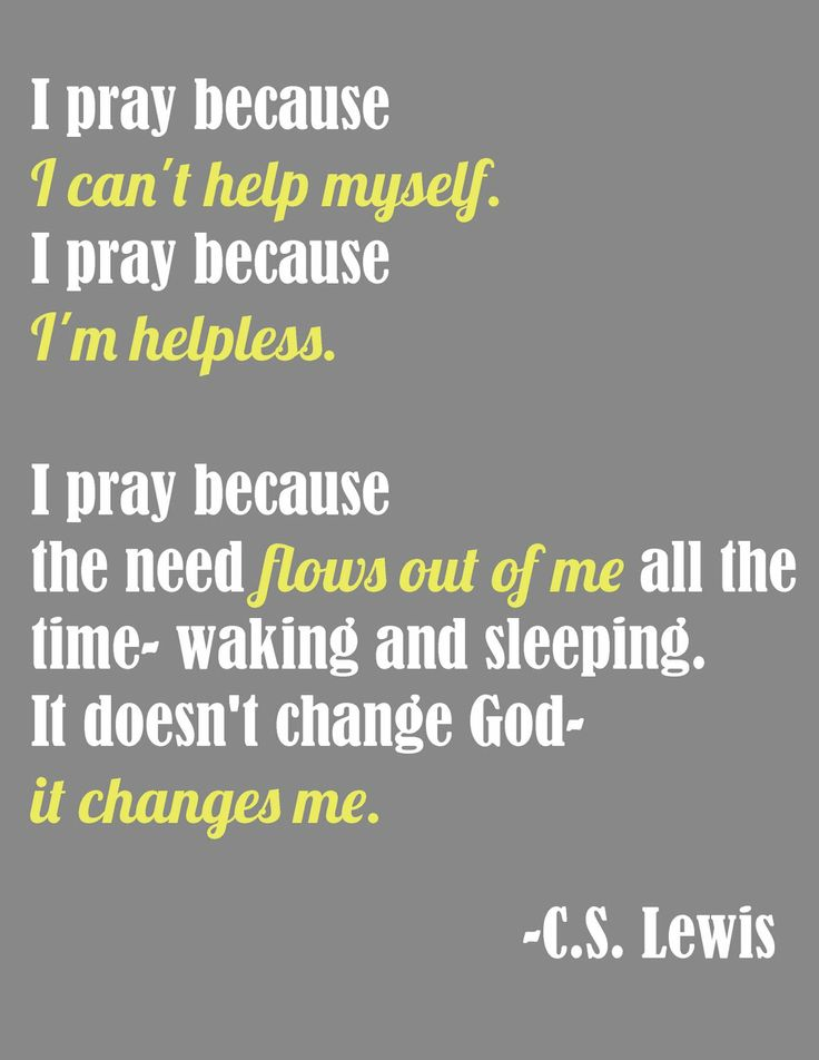 love love love this quote by C.S. Lewis