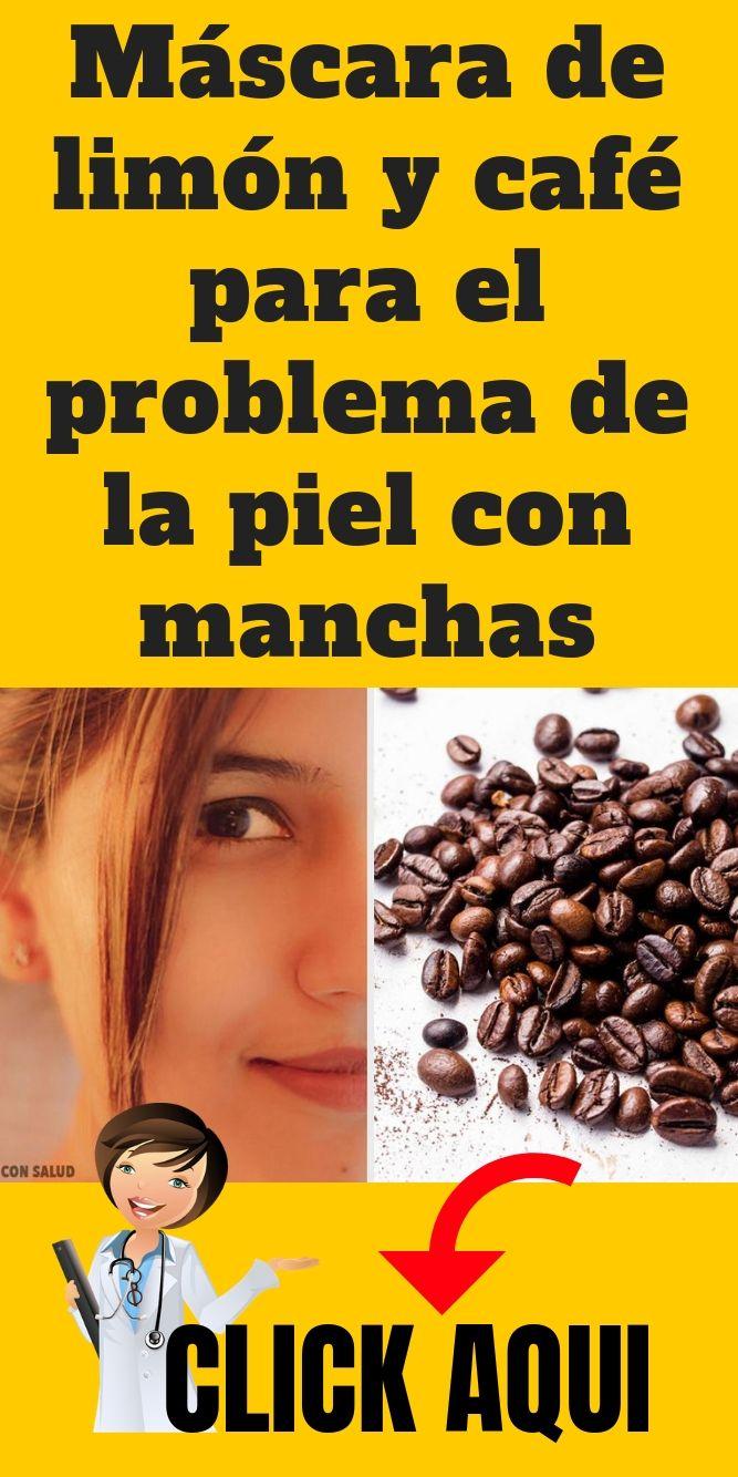 Máscara De Limón Y Café Para El Problema De La Piel Con Manchas Salud Belleza Bellezafemenina Bellezanatural Tips Cafe Spa