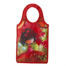 Sac glacière Ketto - Jungle de fleurs / Ketto's cooler bag - Jungle of flowers *Fabriqué à 80% de bouteilles de plastique recyclées / Made of 80% of recycled plastic bottles* www.kettodesign.com