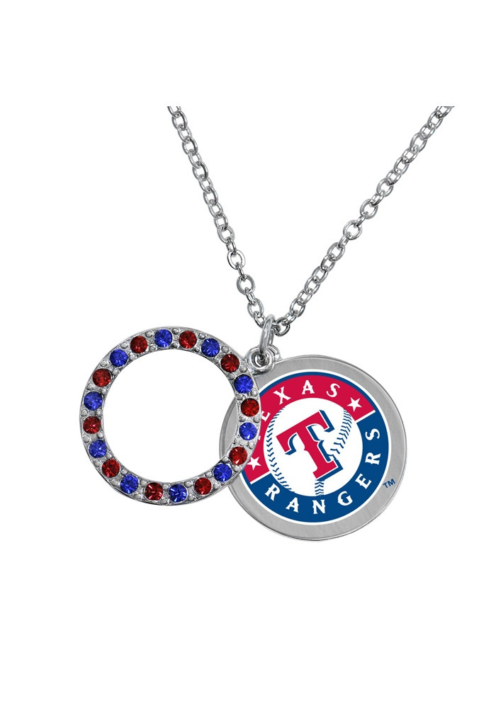 Texas Rangers Opening Day Necklace    http://www.rallyhouse.com/shop/texas-rangers-texas-rangers-opening-day-necklace-1592231    $24.99