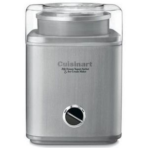 It's never too cold for ice cream! Make your own  fro yo, sorbet or ice cream flavors with this Cuisinart Pure Indulgence 2 Quart Frozen Yogurt-Ice Cream Maker (($89.95)