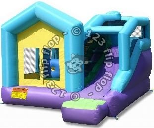 Cottage Inflatable Game - Jeu gonflable chalet | 123FlipFlop Montreal