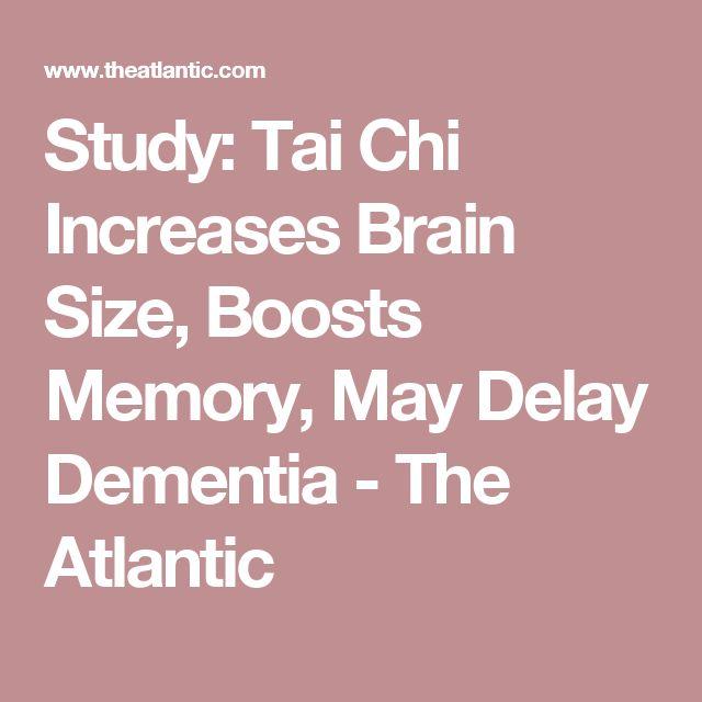 Study: Tai Chi Increases Brain Size, Boosts Memory, May Delay Dementia - The Atlantic