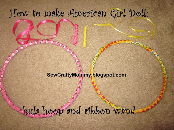 Pintresting Challenge: American Girl Doll Hula Hoop