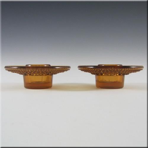 Nuutajarvi Notsjo/Iittala Glass Candle Holders by Oiva Toikka £24.99