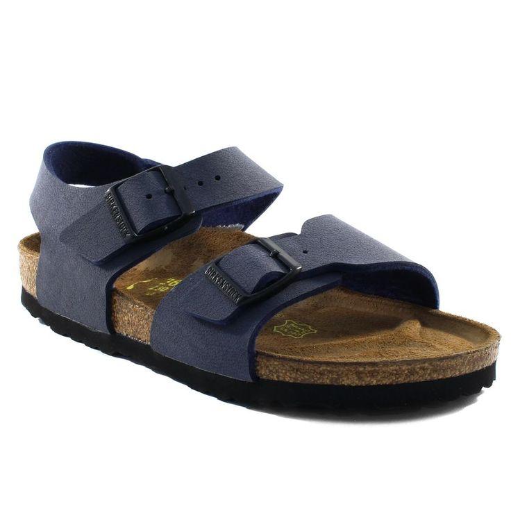 810A BIRKENSTOCK NEW YORK MARINE www.ouistiti.shoes le spécialiste internet  #chaussures #bébé, #enfant, #fille, #garcon, #junior et #femme collection printemps été 2016