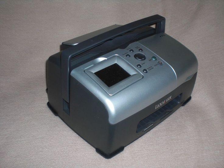 Kompakter Fotodrucker Lexmark P 315 Tintenstrahldrucker Photosmart A6 Farbe