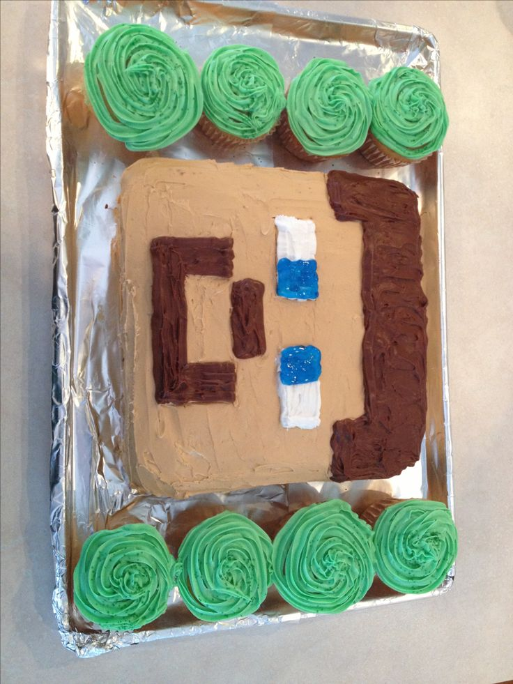 how to make minecraft cupcakes