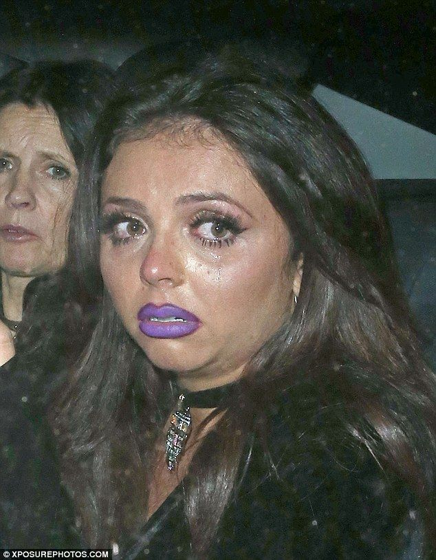 What happened? Little Mix singer Jesy Nelson was in floods of tears as she left the band's...