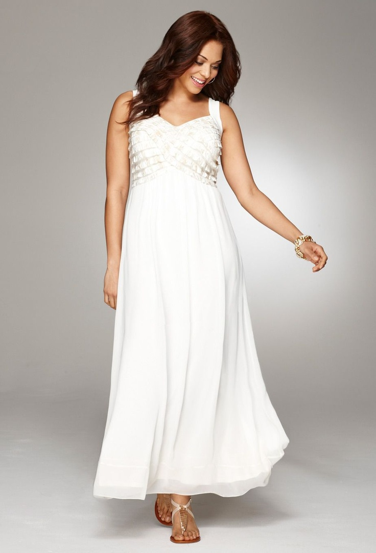 138 best images about garden backyard vow renewals on for Wedding vow renewal dresses plus size