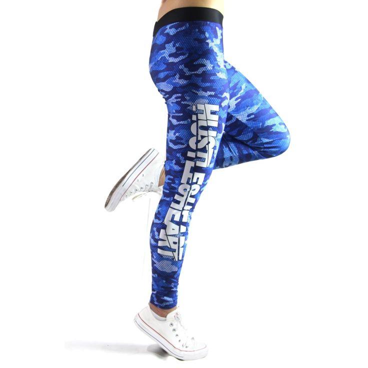 HUSTLE & HEART TECH LEGGINGS – BLUE CAMO – Inner Beast Clothing