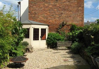 Low maintenance garden after