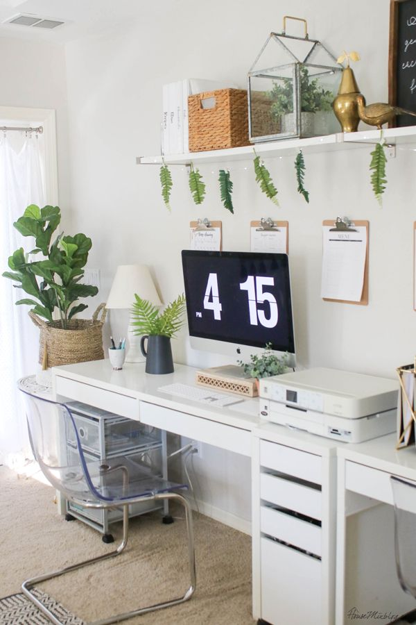 Office Organization Ideas And Minimalist Checklist Office Furniture Modern Ikea Home Office Home Office Decor