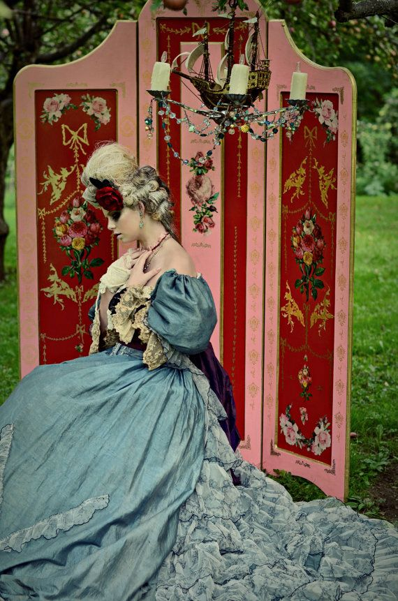 Beautiful handmade Victorian Customizable Privacy by ChloeBarcelou, $525.00