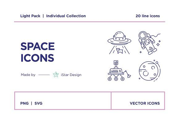 Space Exploration Icons Set Space Icons Icon Set Icon