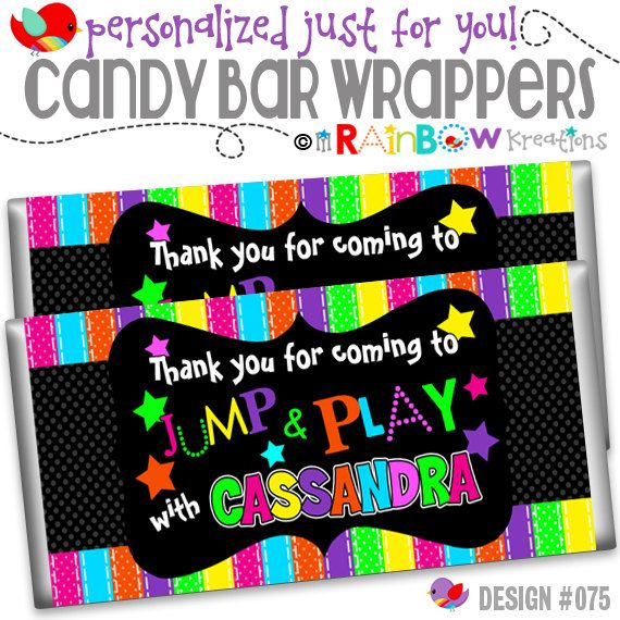 CBW-075: DIY - Glow In The Dark Candy Bar Wrapper