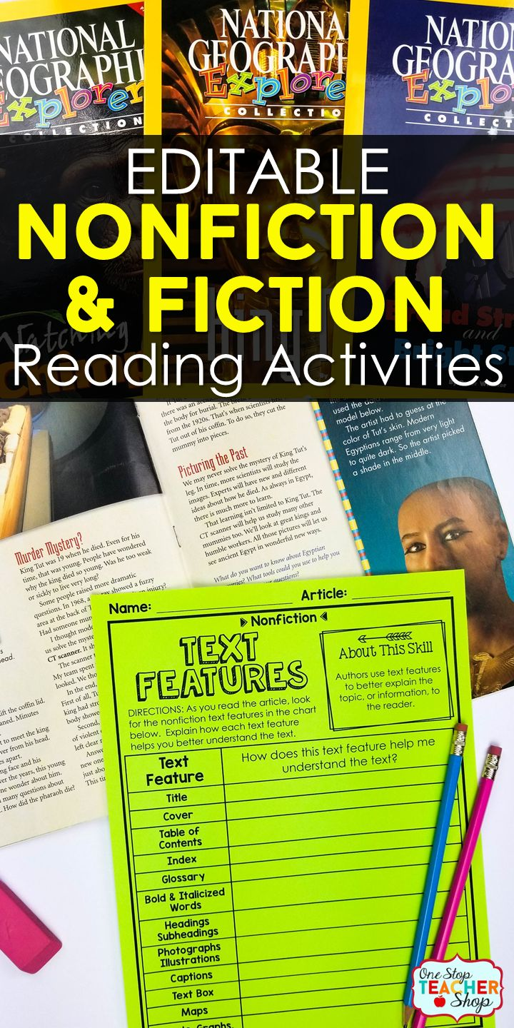 compare and contrast essay on fiction and nonfiction Comparing fiction and nonfiction rl15 -this pack is packed full of ideas and resources to use while you are teaching the ccss standard rl15 if you are not teaching common core, then the pack is still valuable to use when teaching the qualities of fiction and nonfiction and how they compare.