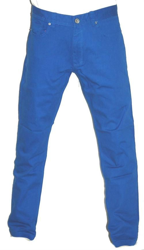 Colored Mens Royal Blue B Boy Skinny Jeans