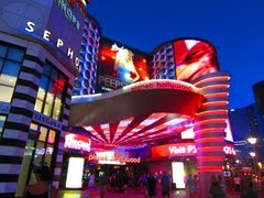Planet Hollywood. Las Vegas.  We stayed here.  Loved, loved, loved shopping the Miracle Mile!