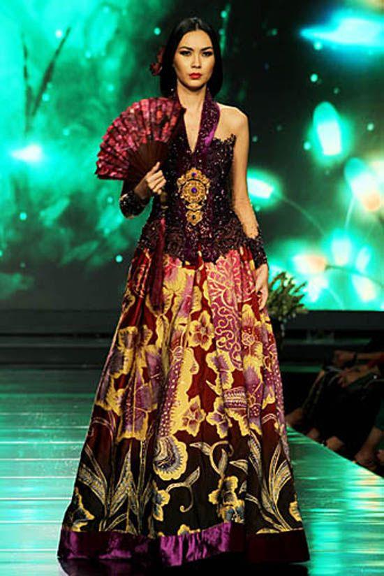 batik bridal from anne avantie