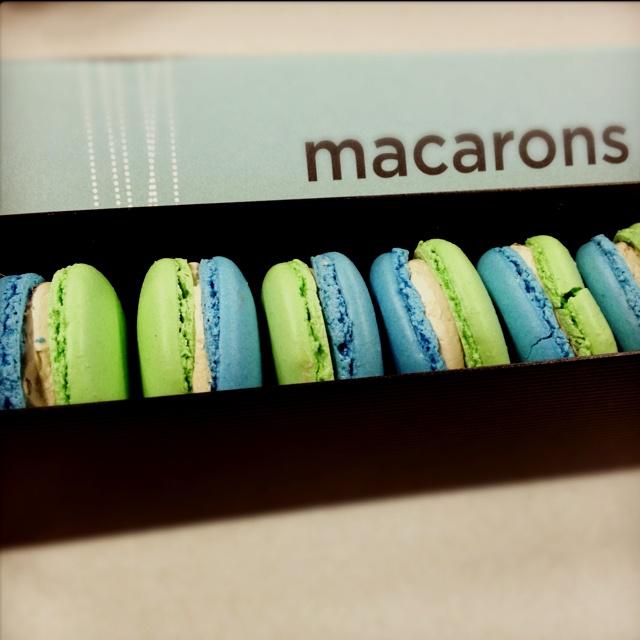 Canucks Macarons