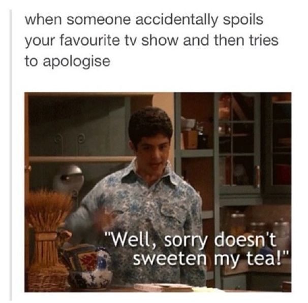 I'm repinning this so I could point out that they also misspelled 'apologize'. But I do miss Drake & Josh.